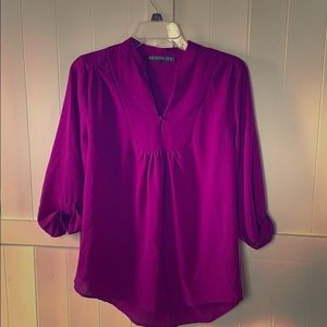 Brixon Ivy purple blouse